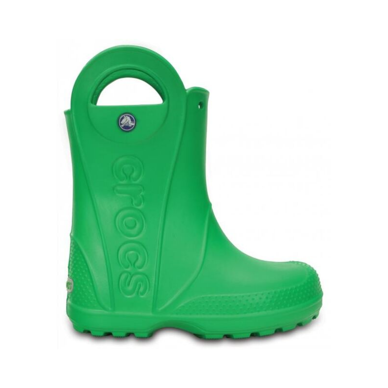 Kalosze dla dzieci Crocs Handle It zielone