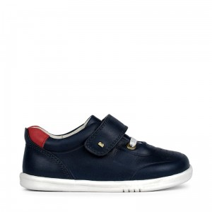 Półbuty Bobux Ryder Navy + Red 635502 I walk