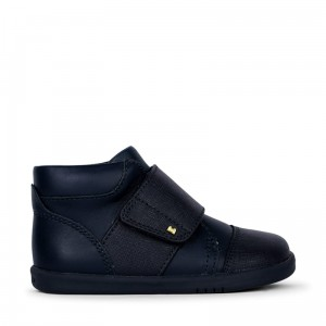 Trzewiki Bobux Boston Hi Top Navy 635705 I walk