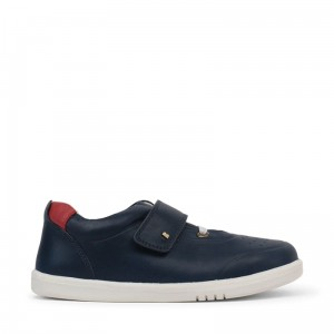 Półbuty Bobux Ryder Navy + Red 835602 Kid+