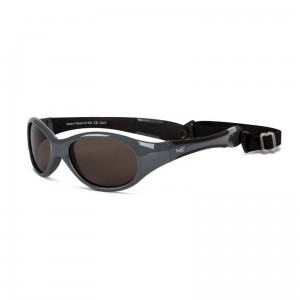 Okulary Real Shades Explorer 0+ graphite and black