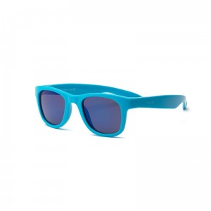Okulary Real Shades Surf 2+ neon blue