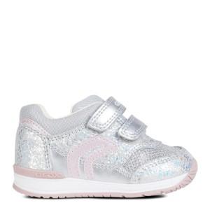 b2433107 Geox buty dziecięce Baby Rishon Girl srebrne