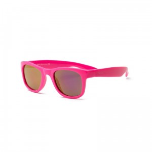 Okulary Real Kids Surf 7+ neon pink