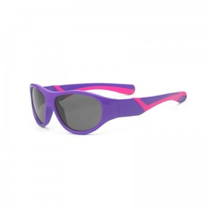 Okulary Real Kids Discover 4+ purple and pink