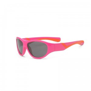 Okulary Real Kids Discover 4+ pink and orange