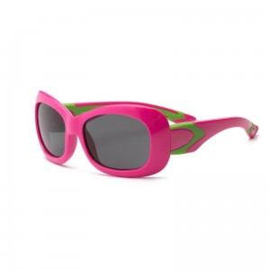 Okulary Real Kids Breeze 7+ cherry pink and lime