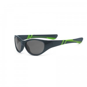 Okulary Real Shades Discover 4+ graphite and lime