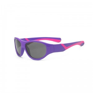 Okulary Real Kids Discover 7+ purple and pink