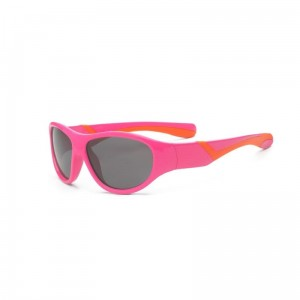 Okulary Real Kids Discover 7+ pink and orange