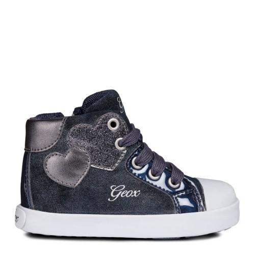 Buty dziecięce Geox Baby Kilwi Girl serduszka