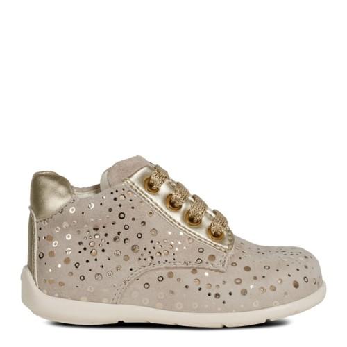 074dfca4 Geox buty dziecięce Baby Kaytan Girl beż złoty - KokoLeti