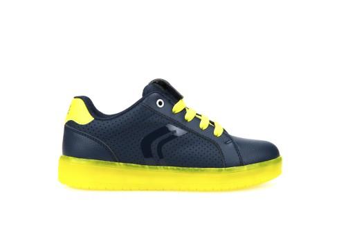 480701b3359bb Świecące buty LED chłopięce Geox Kommodor - KokoLeti