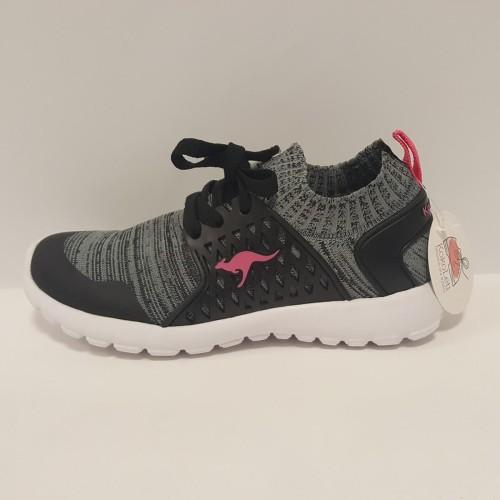 Sportowe Buty Dla Dzieci Kangaroos Szare Kokoleti